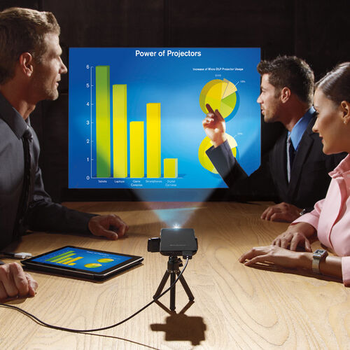 Brookstone® Pocket Projector Slim