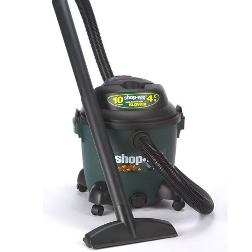 10 Gallon Ultra 4.5 Peak HP Vac with Portable Blower