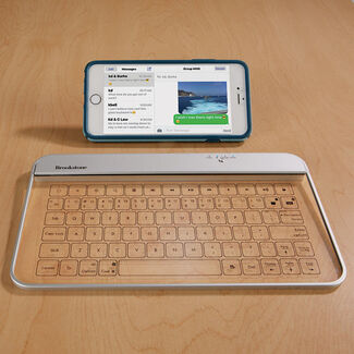 Transparent Glass Wireless Keyboard