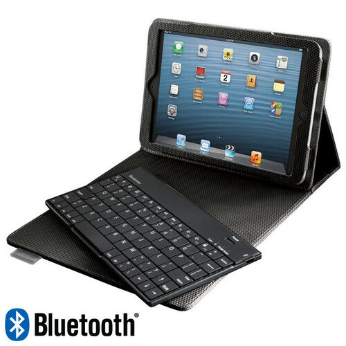 Bluetooth® Keyboard with Tech-Grip Case for iPad® mini Tablet