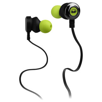 Monster Clarity HD High Definition In-Ear Headphones with Control Talk In-Line Controls Flat Tangle-Resistant Cables and Right-Angle Connector