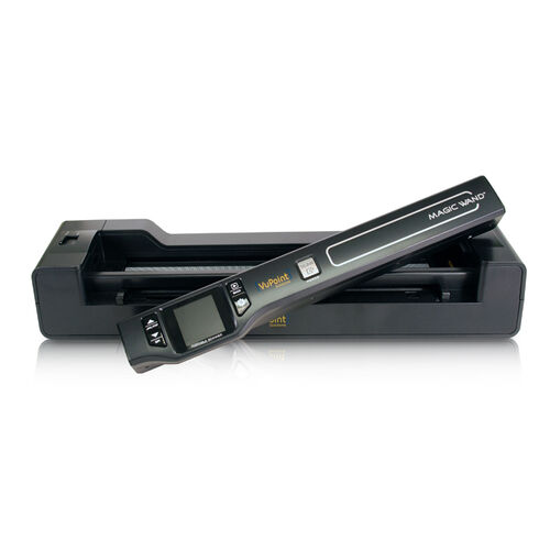"VuPoint Solutions Magic Wand Scanner w/ Docking Base & 1.5"" LCD Panel"