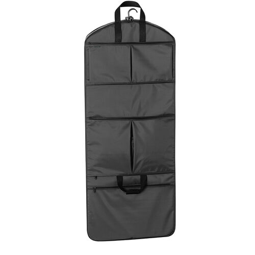"52"" GarmenTote Tri-Fold Garment Bag with Multi Pockets"