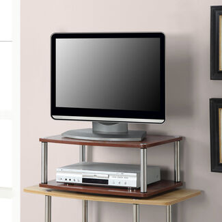 Two Tier Swivel TV Stand