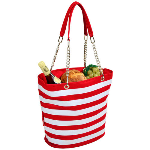 Picnic at Ascot Striped Cooler Tote