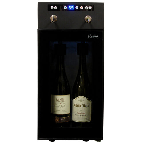 2-Bottle Compressor Wine Dispenser