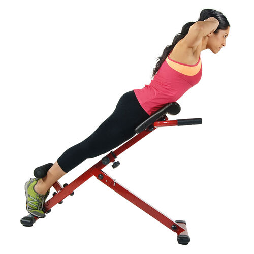 X Hyper Adjustable Core-Strengthening Workout Bench