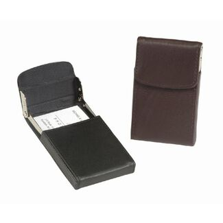 Personalized Royce Leather Vertical Framed Card Case