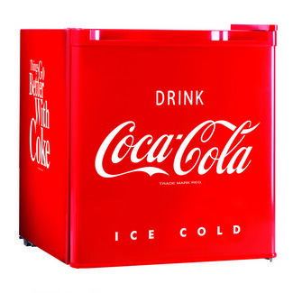 Nostalgia Electrics Coca-Cola Series 1.7 Cubic Ft Mini Fridge