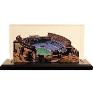 "New England Patriots/Gillette Stadium 9"" 3-D Lighted Replica"