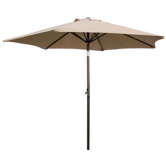 Outdoor 8-Foot Aluminum Patio Umbrella