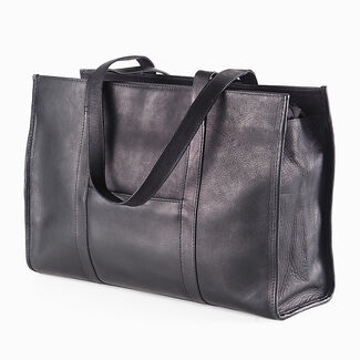 Clava Vachetta Leather Shoe Tote Bag
