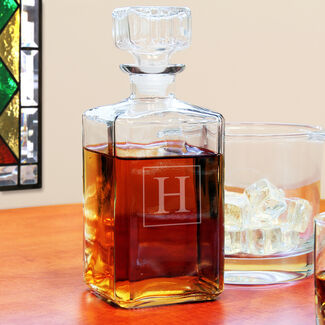 Personalized Glass Decanter By Cathy's Concepts