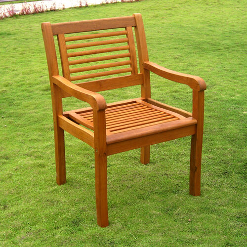 Set of 2 Royal Tahiti Bar Harbor Outdoor Arm Chairs
