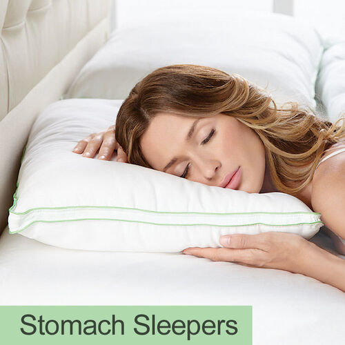 BioSense® Slim-Profile Pillow for Stomach Sleepers