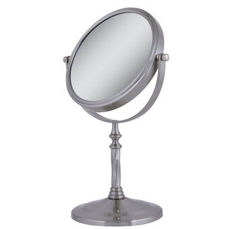 Zadro Two-sided 1X & 5X Magnification Swivel Vanity Mirror