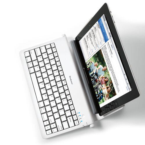 Bluetooth® Tablet Station with Wireless Keyboard