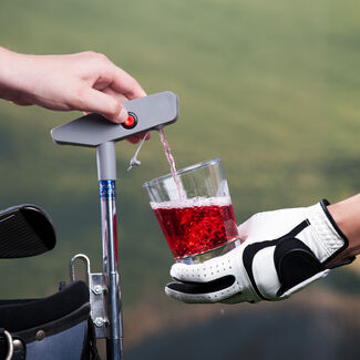 Putter-Shaped Golf Bag Drink Caddie