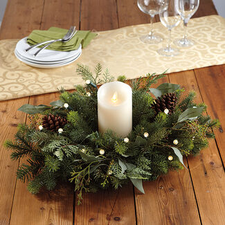 "Noble Fir 22"" Cordless Centerpiece"