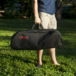 GoSun Sport Stove 2-Tray Nylon Mobile Kitchen Carrying Case with Padded Interior Pocket and Ergonomic Shoulder Strap