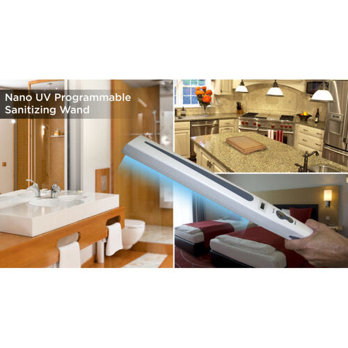 Zadro Programmable Nano-UV Sanitizing Wand