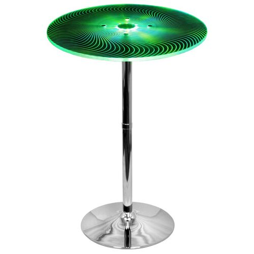 Spyra Glowing LED Bar Table