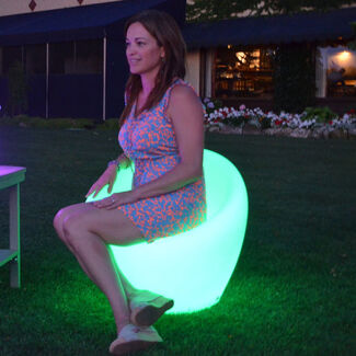 Color Changing Waterproof LED Light - Ibiza Chair