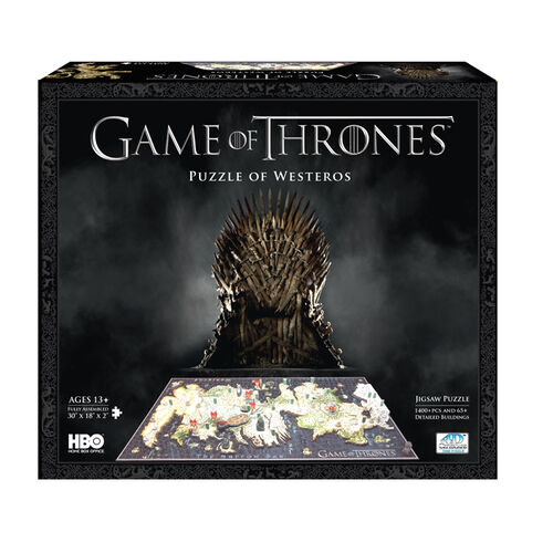 4D Game of Thrones Westeros Puzzle