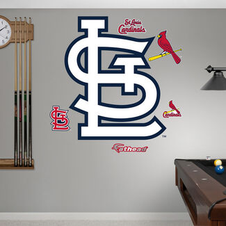 MLB St. Louis Cardinals St.L RealBig Logo Fathead Wall Graphic