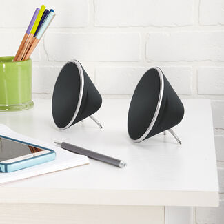 Brookstone Desktop Speakers