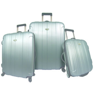 Rome 3-Piece Hardshell Spinning and Rolling Luggage Set