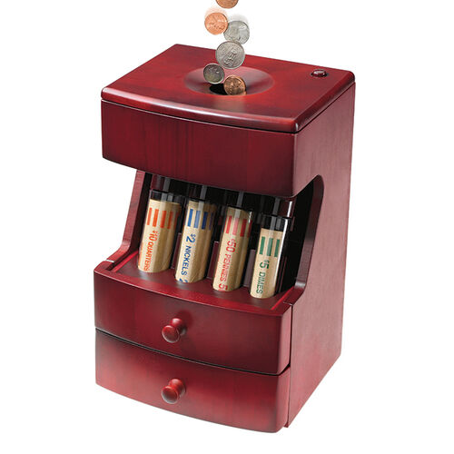 Wood Coin Sorter