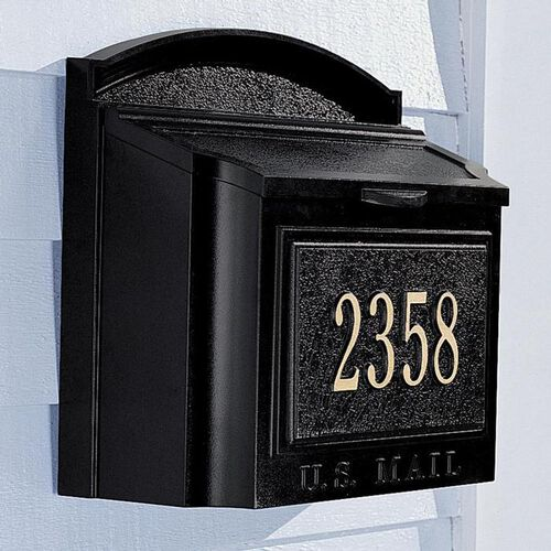 Whitehall Wall Address Marker/ Mailbox