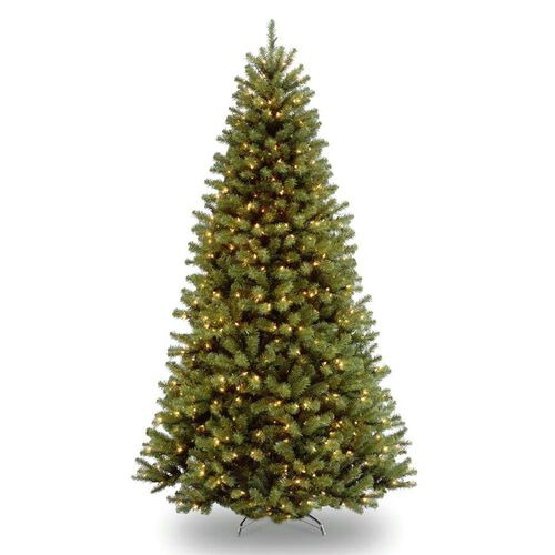 Pre-Lit North Valley Spruce Artificial Christmas Tree