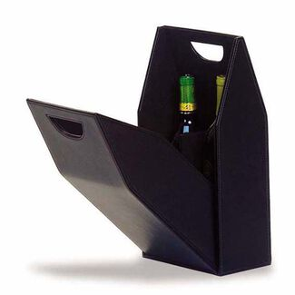2-Bottle Wine Carrier Box