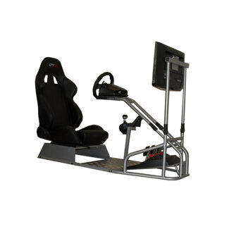 GTR Racing Simulator GTSF Model Gaming Stand w/ Adjustable Racing Seat