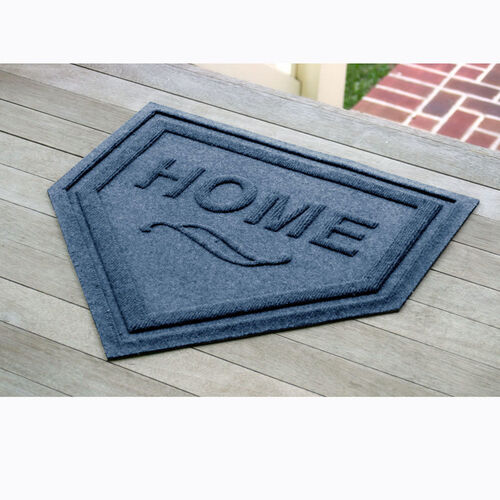 Waterhog™ Home Plate Mat Entry Door Mat