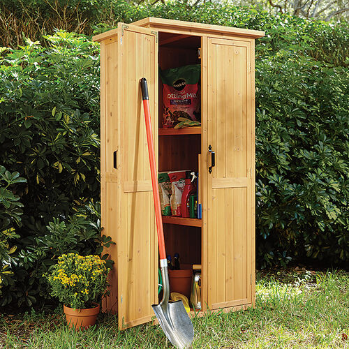 Vertical Storage Shed