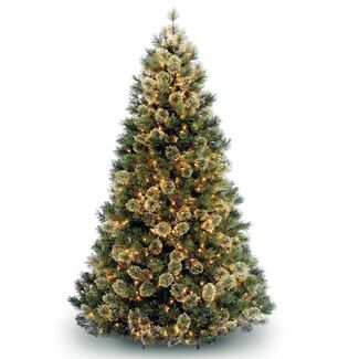 7.5' Wispy Willow Medium Artificial Christmas Tree