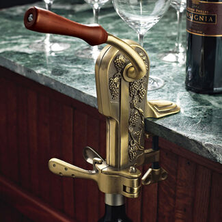 Wine Enthusiast® Legacy Counter Corkscrew