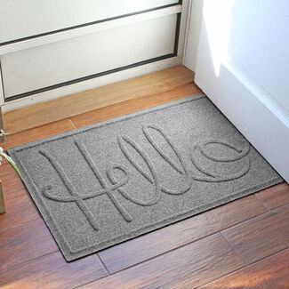 Waterhog Simple Hello Doormat