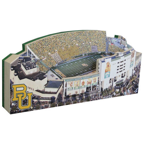 Baylor University Bears/Floyd Casey Stadium Replica w/ Display Case