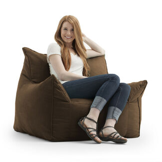 Comfort Research Fuf Imperial Microsuede Lounger
