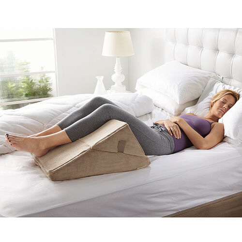 Bed Wedge Sit Up Pillows At Brookstone Buy Now
