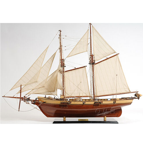 Harvey Clipper Wooden Sailing Ship Model