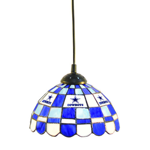 "NFL Dallas Cowboys 8"" Pendant Light At Brookstone—Buy Now"