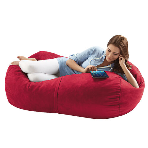 Jaxx Sofa Saxx 4 ft Foam Bean Bag Lounger, Microsuede