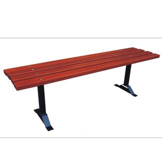 Commercial Outdoor Bench with No Back