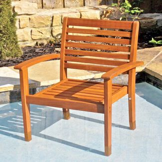 Royal Tahiti Outdoor Furniture: Oslo Contemporary Chair
