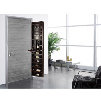 Cabidor Behind-the-Door Wine Steward Storage Cabinet